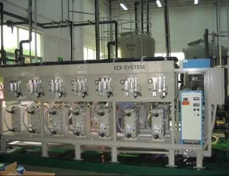 电子行业超纯水设备成套